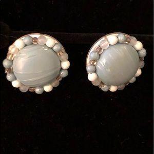 Vintage 50's Pierced Earrings